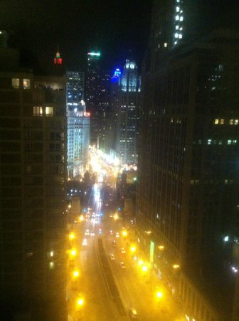 Hard Rock Hotel Chicago : View from our room