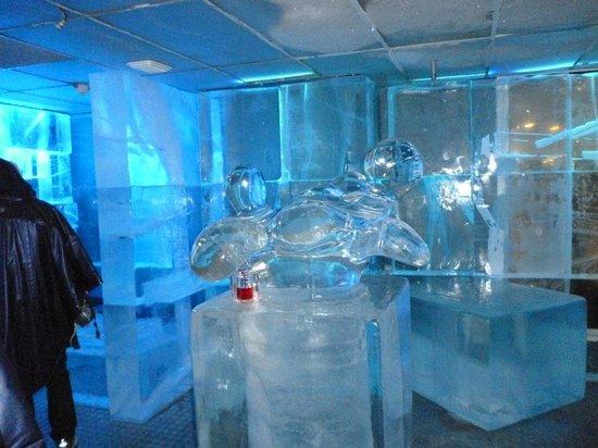 ICEBAR by ICEHOTEL Stockholm : ornamenti di ghiaccio