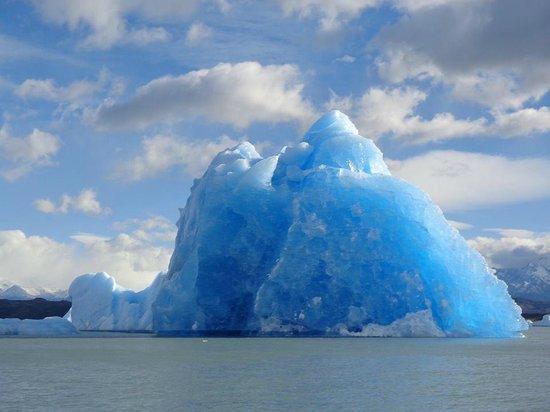 Estancia Cristina: Bloques de hielo del Upsala