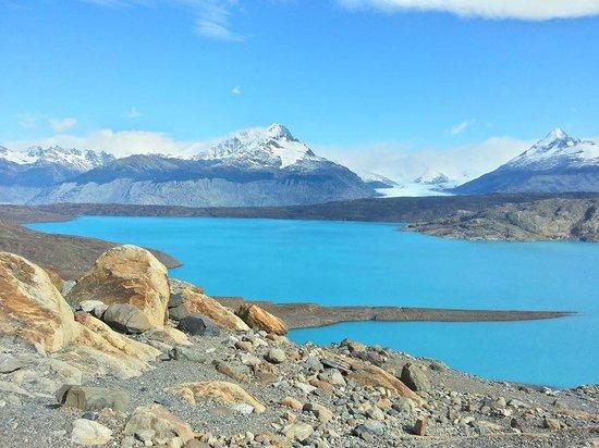 Estancia Cristina: Lago en el mirador del Upsala