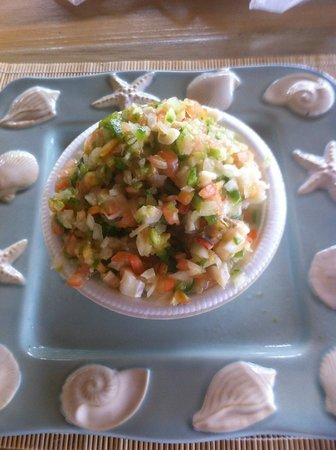 Yardie's Restaurant, Bar and Conch Stand: Conch Salad