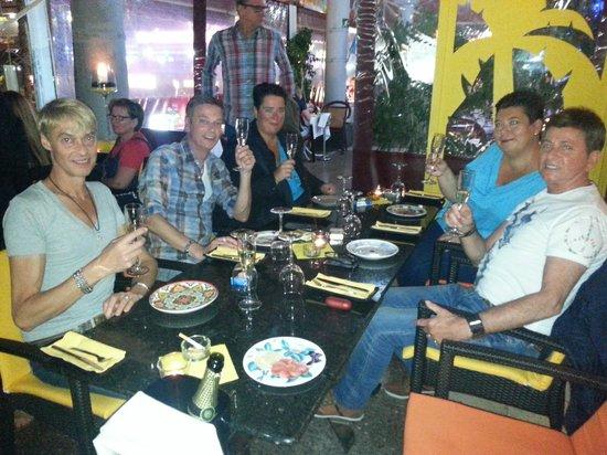 Birthday dinner with friends at Wapa Tapa