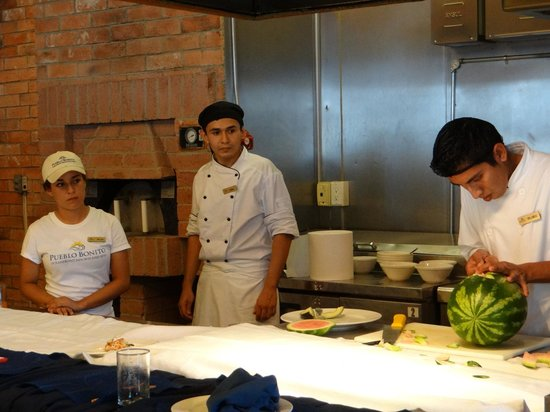 Pueblo Bonito Sunset Beach Golf & Spa Resort : Cooking Class