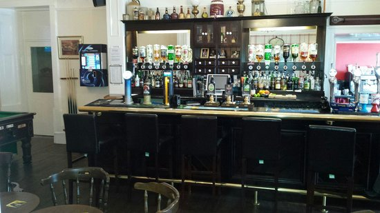 The Osborne: The new bar just off the lounge. Cosy and warm with a great selection of beers, ales, wines and