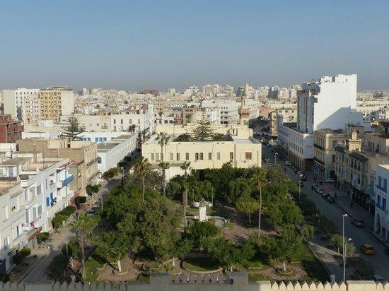 Hotel naher el founoun: Uitzicht op het centrum en de medina van Sfax