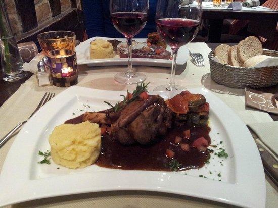 Cote Resto : Souris d'agneau