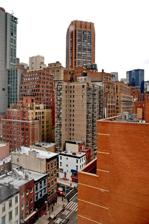 The Hotel @ New York City: view from top floor room