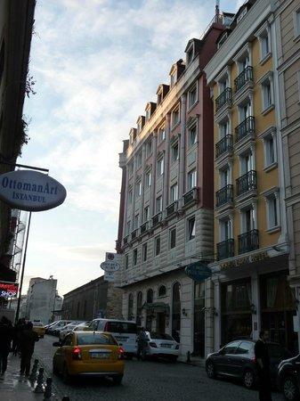 Sirkeci Park Hotel: Façade de l'hôtel
