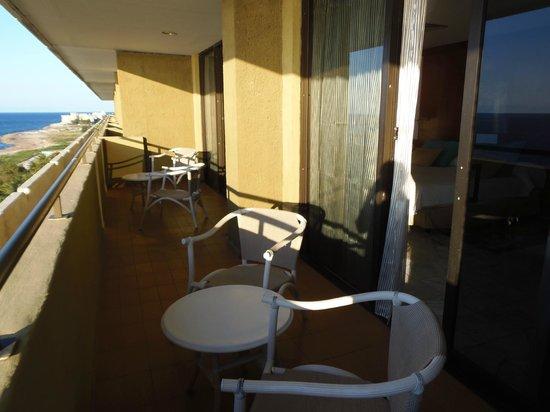Melia Habana: Balcón de la habitación