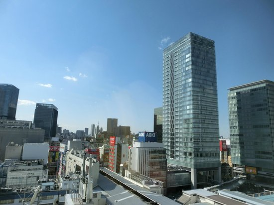 remm Akihabara: View from room window
