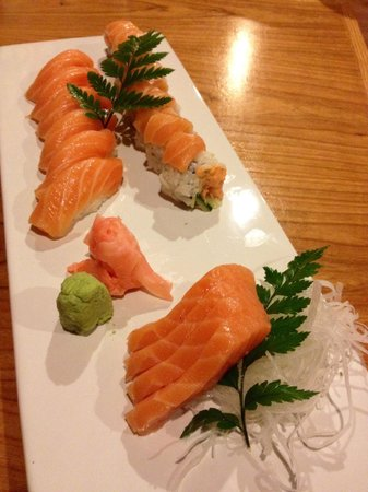 Little Tokyo: Silky salmon is perfect!