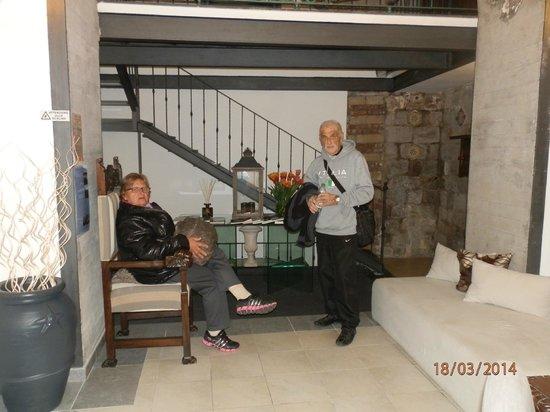 Hotel Rivoli Sorrento: Recepcion