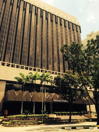 Sheraton Towers Singapore: Front aanzicht