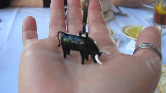 Columbia: Da Bull from the Wine bottle :)