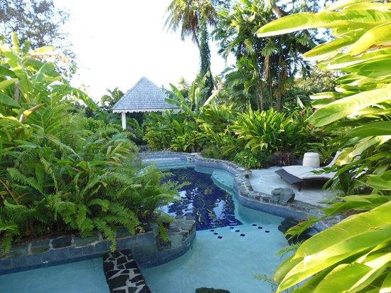 Rendezvous Resort: the Secret River swimming pool
