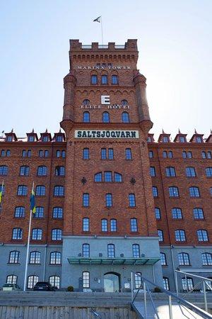 Elite Hotel Marina Tower: Фасад отеля