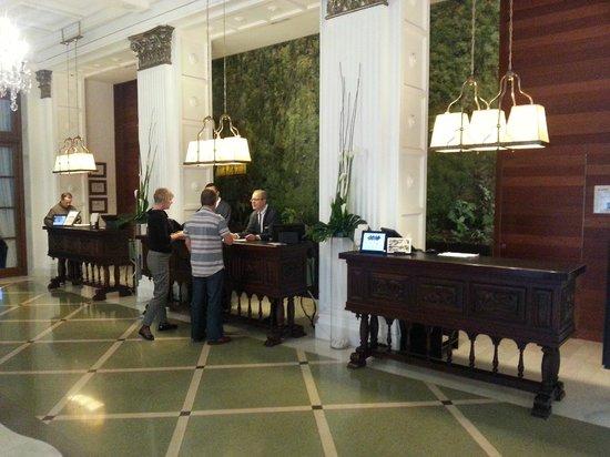 IBEROSTAR Grand Hotel Mencey: Rezeption