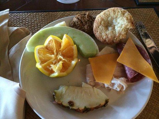 Royal Isabela: Continental breakfast. Hardly continental