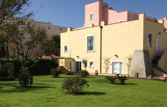 Hotel'a Sciulia : giardino