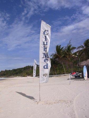 Club Med Bintan Island : ビーチではバレー大会も