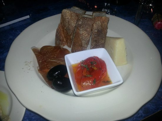 Henry's Cafe and Fine Groceries: Charcuterie and cheese