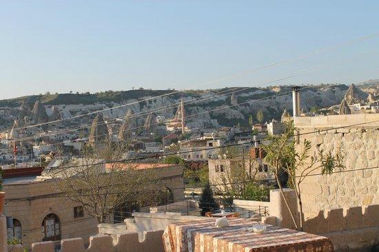 Dream Cave Hotel: Vista do terraço para a cidade