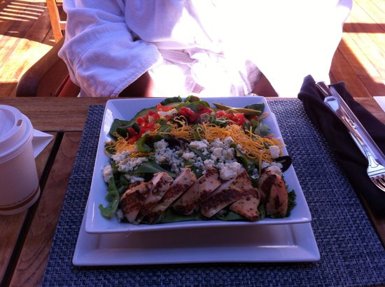 Well & Being Spa at Fairmont Scottsdale Princess: Just a ymmy lunch!