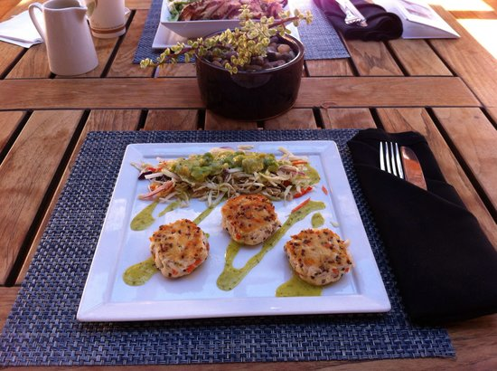 Well & Being Spa at Fairmont Scottsdale Princess: Just a yummy lunch!