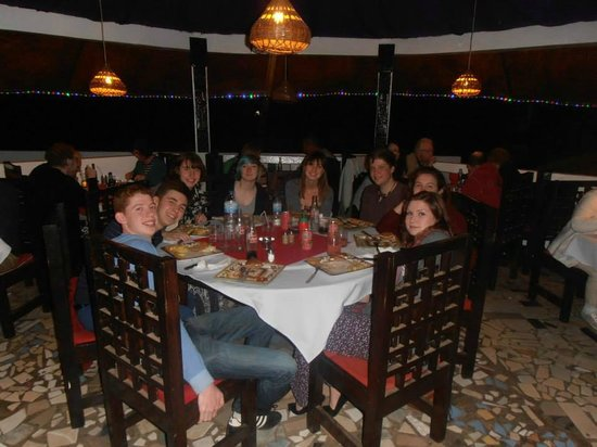 G.T.S. Bar & Restaurant : Young people having a great time at G.T.S