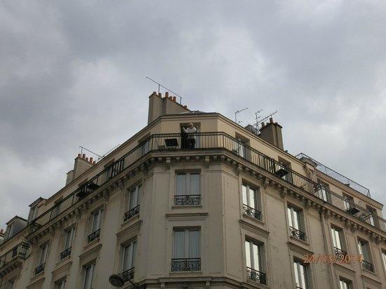 Hotel Le Home Latin: vista desde abajo