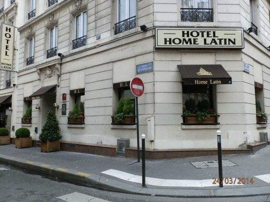 Hotel Le Home Latin: fachada