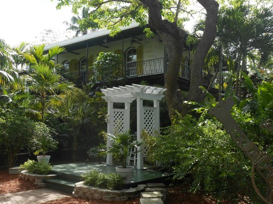 Ernest-Hemingway-Haus: house from the wedding garden