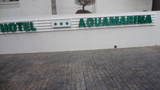 Club Hotel Aguamarina: LETRERO HOTEL