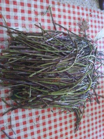 Ristorante Il Buongustaio: Asparagi i bosco