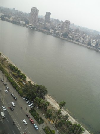 Fairmont Nile City : View from the room