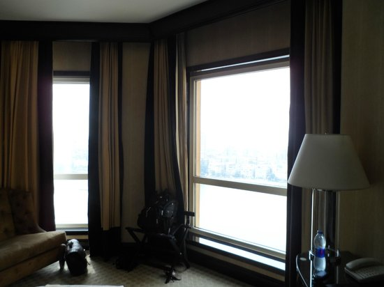 Fairmont Cairo, Nile City: View of the room