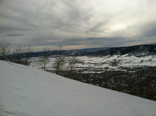 Steamboat Ski Resort: The view from Valley View