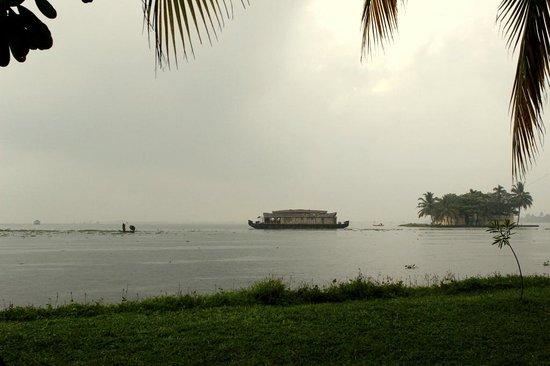 Punnamada Resort: View from room