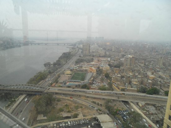 Fairmont Cairo, Nile City: View from the room