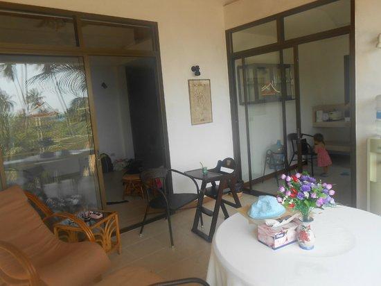 Seaview Paradise Resort Hotel: terasse