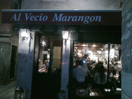 Al Vecio Marangon : Outside