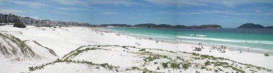 Forte Beach : Playa del Fuerte Cabo Frio