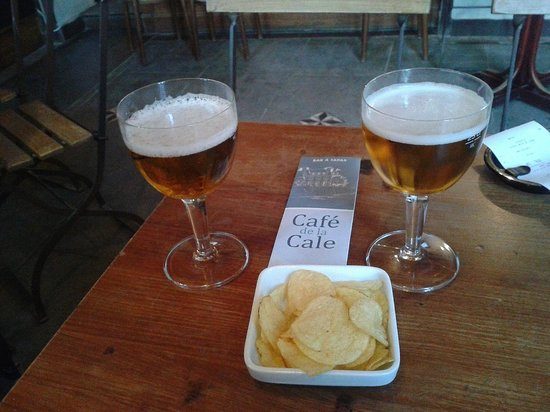 Cafe de la cale: Bonne bière