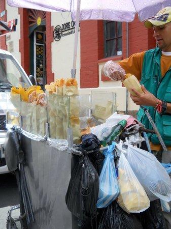 La Candelaria: Onde eu comprei uns patacones gostosos