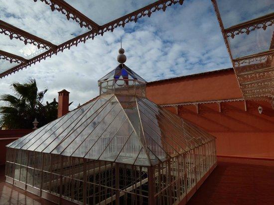 Casa Palacio Conde de la Corte: VISTA DEL DE LA TERRAZA