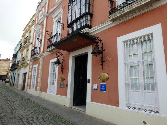 Casa Palacio Conde de la Corte: ENTRADA PRINCIPAL