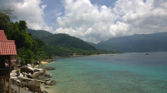 Panuba Inn Resort: View from the rooms terrace