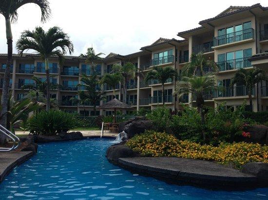 Waipouli Beach Resort: View of hotel