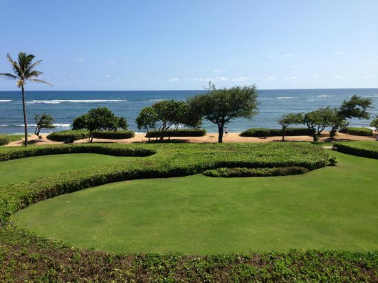 Waipouli Beach Resort: Ocen front view