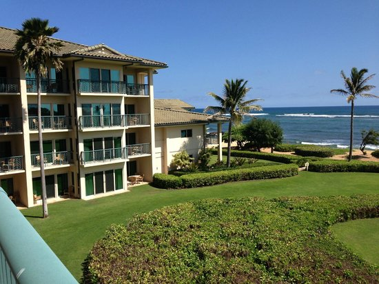 Waipouli Beach Resort: Ocean front view
